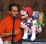 A ventriloquist?